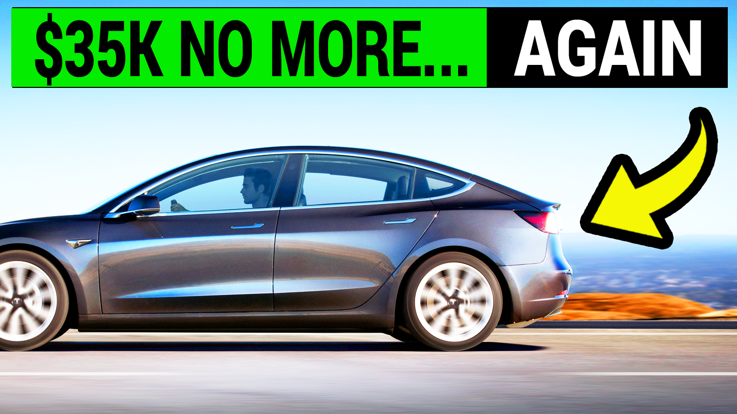$35,000 Tesla Model 3 Is No More    Again! | E for Electric