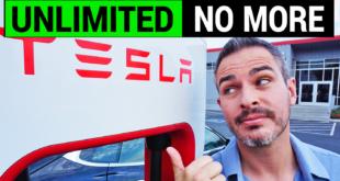 Tesla Limits Its Unlimited Supercharging