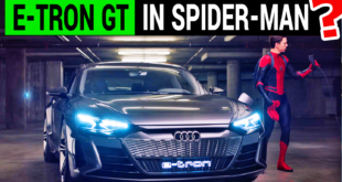 Will Audi e-tron GT Shine as a Superhero in the Next Spiderman Movie?
