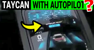 Autopilot Feature Exposed in Porsche Taycan