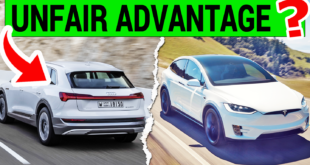 Audi e-tron Tops Tesla with an Unfair Advantage