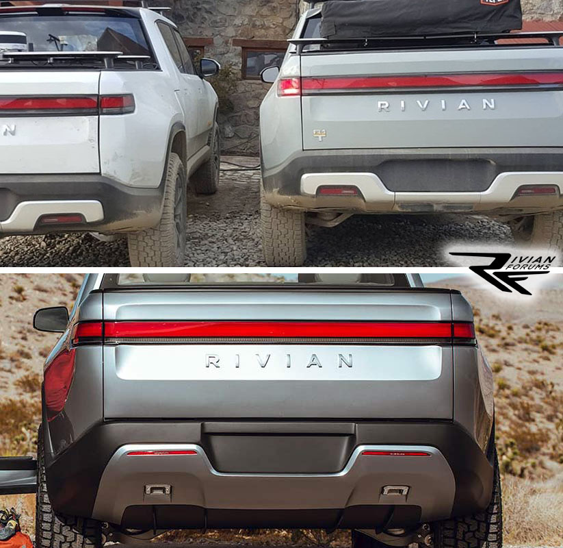 Rivian electric pickup