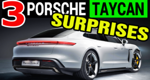 Porsche Taycan Unveiled: 3 Surprises We Did Not Expect