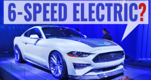 First Look: 6-Speed Converted Electric Ford Mustang at SEMA